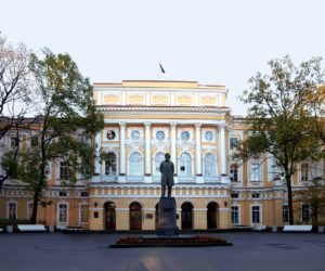Razumovsky Palace in Saint Petersburg, Russia