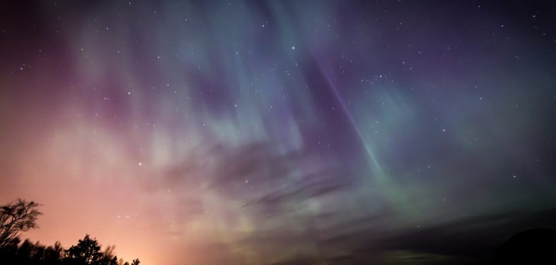 Viewing aurora borealis