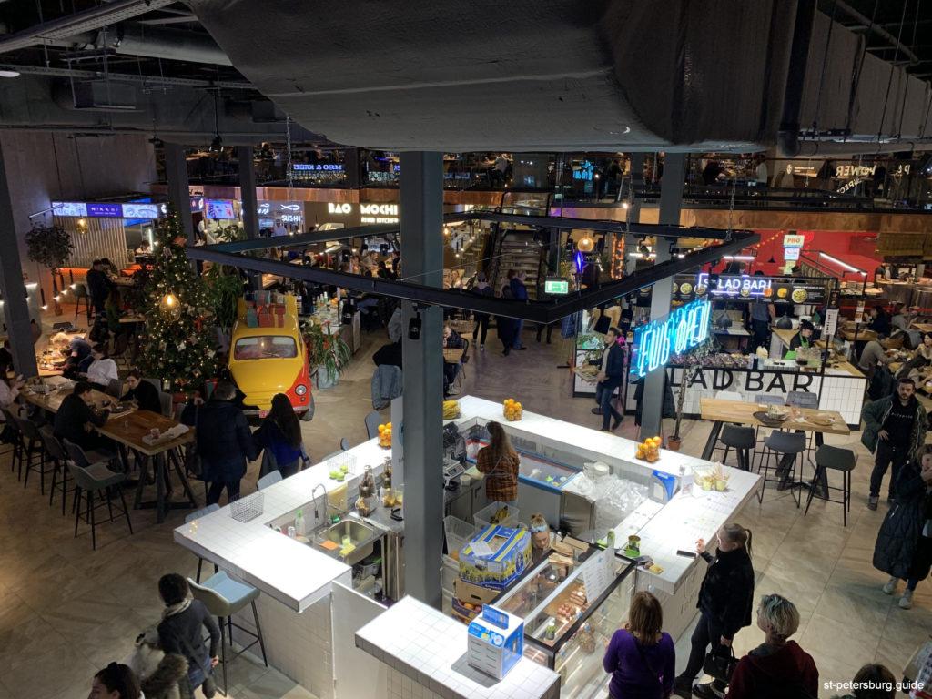 Eat Market in Galeria Shopping Mall, Saint Petersburg