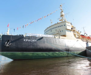 The icebreaker Krasin, Saint Petersburg