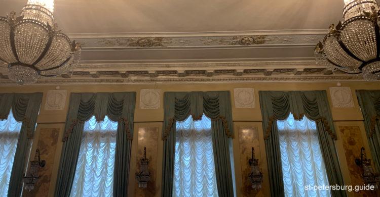 Inside the manshion of Matilda Kshesinskaya. Saint Petersburg Russia