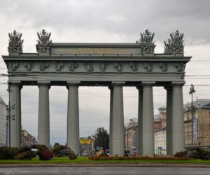 Moscow Gates in Saint Petersburg, Russia