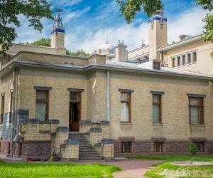 The outer view on Matilda Kshesinskaya's mansion