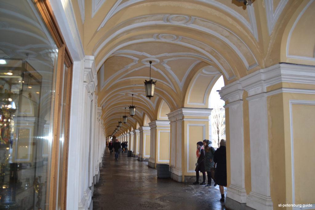 Gostiny Dvor in St Petersburg