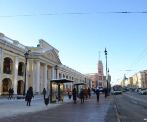 Gostiny Dvor on Nevsky Prospekt in St Petersburg