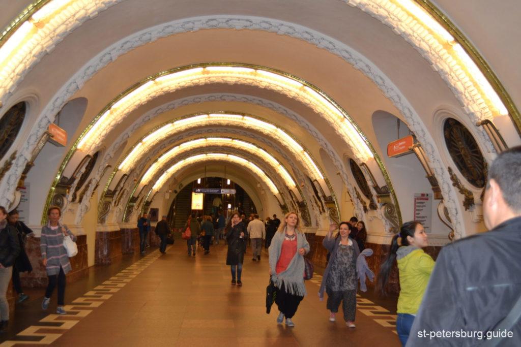 Uprising square metro station, Saint Petersburg