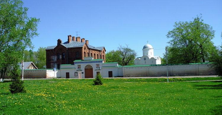Monastery in Staraya Ladoga, Leningrad region