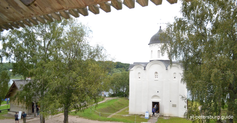St George Church in Staraya Ladoga (Old Ladoga) in Leningrad region