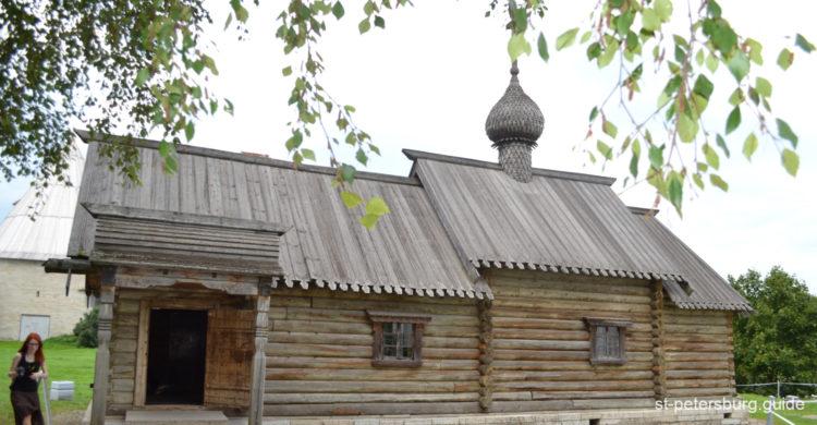 Church in Staraya Ladoga (Old Ladoga) in Leningrad region