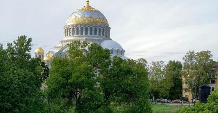 St Nicolas Cathedral in Kronstadt, Saint Petersburg